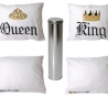 PT - pillow case set King & Queen