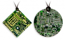*EOL* Circuit board necklace