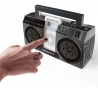 Mini boombox for ipod
