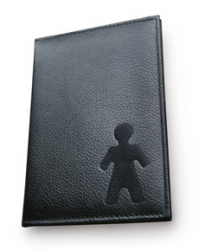 Passport holder his