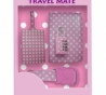Roze travelkit