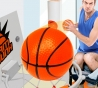 Bathketball - Mini Basketbal voor in badkamer of toilet