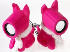 Pink Doggie speakers