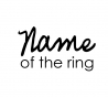 Name of the ring